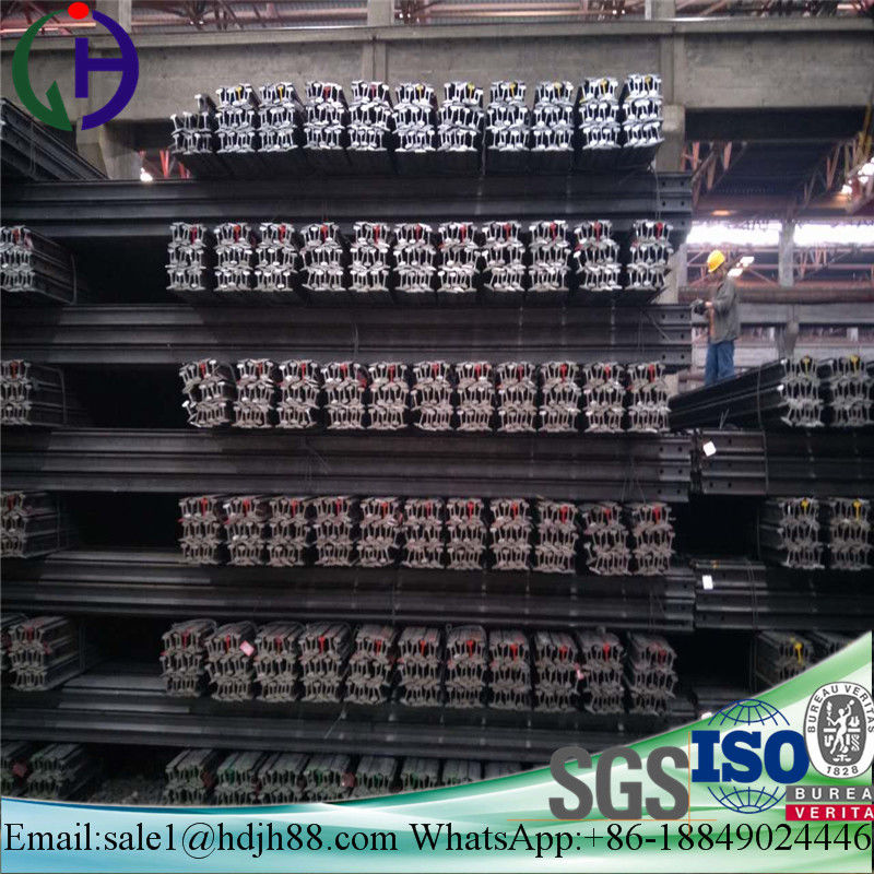 High Durability Railroad Steel Rail Tensile Strength 880MPa Min 12m Or 12.5m