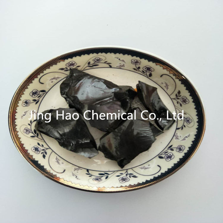 Black Solid Coal Tar Pitch Lumps with Softening Point 130 ℃ - 140 ℃